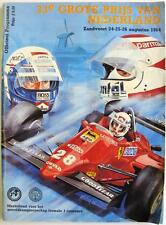 DUTCH GRAND PRIX 1984 ZAHDVOORT Formula 1 Official Programme