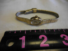 BULOVA  M4 Ladies Watch 10K ROLLED GOLD PLATE-doesn't work