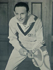 Jean Borotra Indoor Tennis Championship New York 1931 Page Photo Article 7566