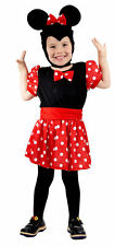 TODDLER MOUSE GIRL HALLOWEEN FANCY DRESS UP  COSTUME PARTY AGE 3 -4 YEARS OLD