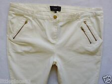 BNWT NEXT NEW Ladies white cream skinny jeans  trousers size 18 R