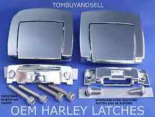 HARLEY DAVIDSON LATCHES TOUR PACK PAK PAC CLASSIC ELECTRA GLIDE ULTRA RAZOR