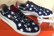 Puma Suede Classic Patriot 36209701 Stars Stripes Sneakers Shoes Men's 11 Skate