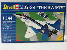 New; Revell; Model kit; MiG-29; The Swifts; 1:144; #04007; New in box