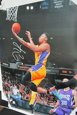 D'Angelo Russell Signed 16x20 NBA Photo - Global Authentics