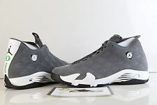 Nike Air Jordan Retro 14 Oregon Ducks PE Grey White Lux Suede Promo Sample 14 3