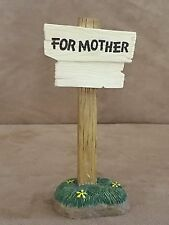 For Mother sign Winnie the Pooh & friends Disney figurines LE collectors club