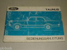 Betriebsanleitung Handbuch Ford Taunus Knudsen TC '74, Stand 06/1973
