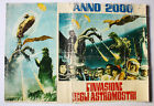 "ULTRA RARE VINTAGE 1965 INVASION OF ASTRO MONSTER MOVIE POSTER 14"" X 11"" ITALY 5"