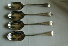 Four Mappin and Webb Solid Silver Serving Table/Serving Spoons - Sheffield 1920