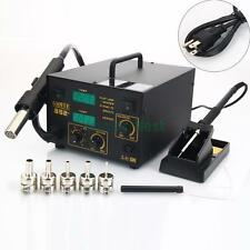 Gaoyue 2in1 852+ Digital SMD Rework Electric Soldering Iron Station 110V 270W