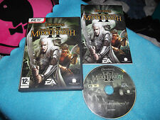 LOTR BATTLE FOR MIDDLE EARTH II 2 STRATEGY RTS PC-DVD V.G.C. FAST POST COMPLETE