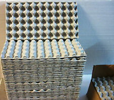 "Lot of 18 QUAIL EGG Shipping Carton Tray 13"" X 7"" Paper Mache Holds 50 Eggs Each"