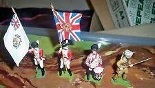 Britains Swoppets American War of  Independence Soldiers x 4 made in England