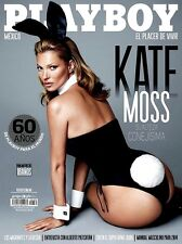 PLAYBOY MEXICO KATE MOSS ENERO/JANUARY 2014 PLAYBOY MEXICAN EDITION NEW