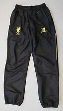 2013/2014 Liverpool Fc adultos de longitud completa presentación Pantalones-Negro-Uk Pequeño