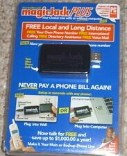 MAGIC JACK PLUS FREE LOCAL LONG DISTANCE PHONE CALLS  BRAND NEW  FREE SHIPPING
