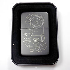 Minion Black Gift Engraved Cartoon Cigarette Lighter Biker Gift LEN-0147