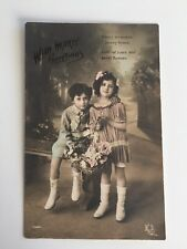 "Vintage Postcard - K Y #1147 ""With Hearty Greetings"""