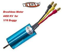 HSP Motor sin Escobillas para 1/16 Escala Buggy camión 28470 4450 kv UK