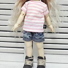 bjd yosd 1/6 doll clothes, shorts Marble wash navy