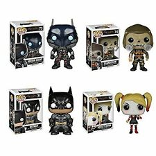 BATMAN ARKHAM KNIGHT POP! SET OF 4 VINYL FIGURES FUNKO IN STOCK! FREE SHIPPING!