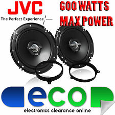 Toyota Yaris 2002-2014 JVC 16cm 6.5 Inch 600 Watts 2 Way Front Door Car Speakers