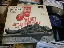 WHAT PASSING BELL- WW1 POETRY ARGO VINYL ALBUM