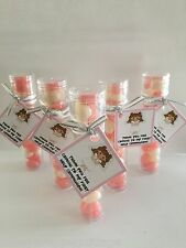 5 CUTE GIRL FIRST HOLY COMMUNION  Jelly Bean Candy Party Favors Personalized Tag