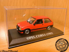 OPEL CORSA RED 1985 1:43 WITH BOX!! MINT!!!