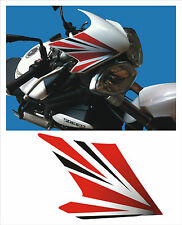 adesivo cupolino DX triumph speed 1050 2011  -adesivi/adhesives/stickers/decal