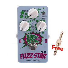 New Biyang FZ-10 Electric Guitar Effect Pedal Three Models Fuzz Star Distortion