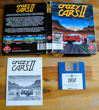Jeu CRAZY CARS II 2 version disc (Disk) pour PC AMIGA