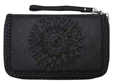 "BRAND NEW + TAG BILLABONG ""PIXIE"" LADIES / GIRLS BLACK CLUTCH WALLET / PURSE"