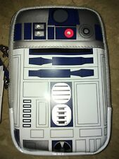 DISNEY D-Tech Star Wars R2d2 Light Up Case ALL IPhone Case Wristlet USA NO CHINA