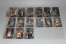 1993-94 Upper Deck Locker Talk komplettes Set mit Michael Jordan