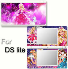 Barbie Charm Fashion Cute SKIN DECAL VINYL STICKER COVER for Nintendo DS Lite