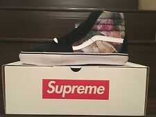 Vans Sk8 Hi Pro Supreme Power Corruption Lies PCL Sz 10