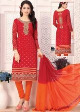 Elegant Crepe Designer Printed Unstitched Dress Material Suit D.No SFD11008