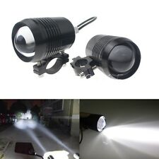 2pcs Black U3 LED Spot Fog Lamp Light For KTM Bikes
