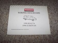 vw camper diagram 1998 vw volkswagen eurovan camper r v rv electrical wiring diagrams manual