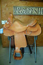 "17"" G.W. CRATE CUSTOM REINING / CUTTING SADDLE FREE SHIPPING MADE IN ALABAMA USA"