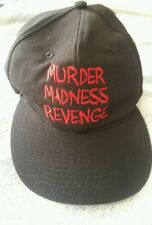 "The Devil's Rejects Rob Zombie Black Promotional Hat ""Murder,Madness,Revenge"""
