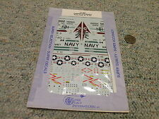Superscale  decals 1/72 72-490 Carrier Air Wing II F-4J F-4G A-1 A-6    H82