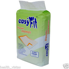 EasyFit Disposable Under Pads for Bed-ridden & Incontinent Patients (10/Pack)