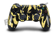 Playstation 4 (PS4) Controller Cover / Skin / Wrap - Black Shark Camouflage
