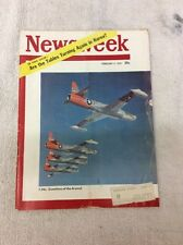 Newsweek Magazine Feb 5 1951 F-94's Guardians Of The Arsenal Korea WWll
