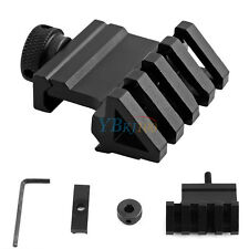 20mm Weaver Style Rail Mount Quick Release Tactical 45 Degree Angle Offset