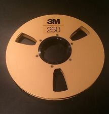 "Scotch 250 Audio Mastering Tape Gold Take Up Reel 1/2""x10.5"" Precision Reel"