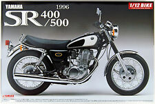 Aoshima Naked Bike 17 Yamaha SR400/500 '96 1/12 scale kit